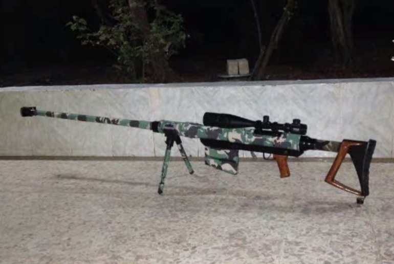 Syrian Rebels Produce Homemade Anti-Materiel Rifles