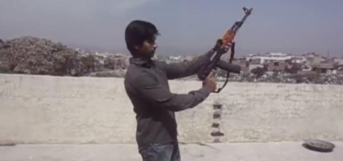 44 Bore rifle