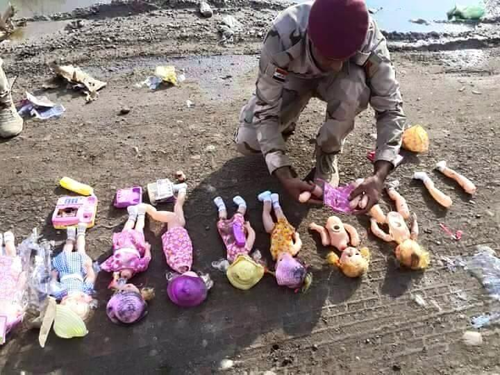 Islamic State employs improvised explosive devices concealed ...