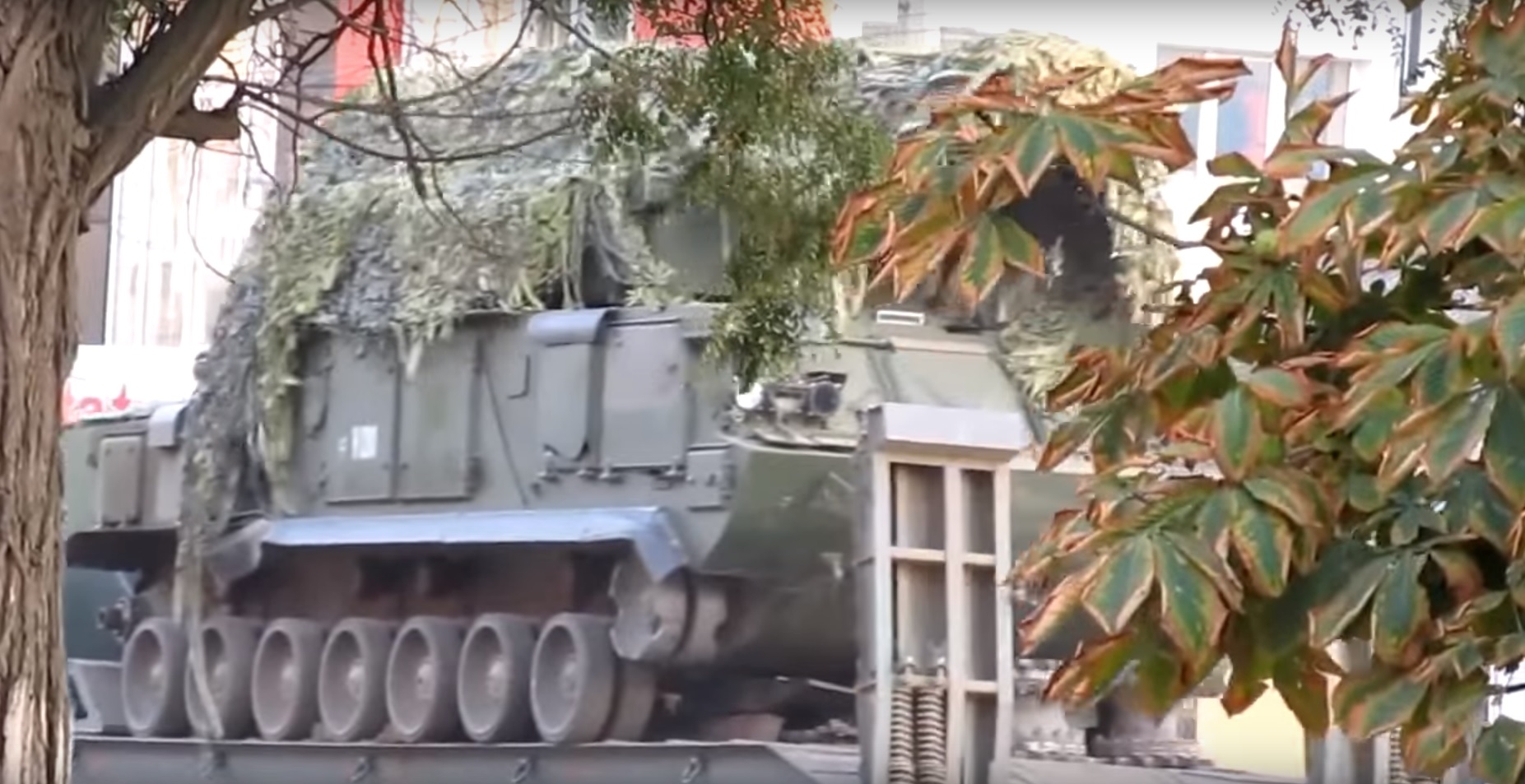 Tor series surface-to-air missile systems in Ukraine