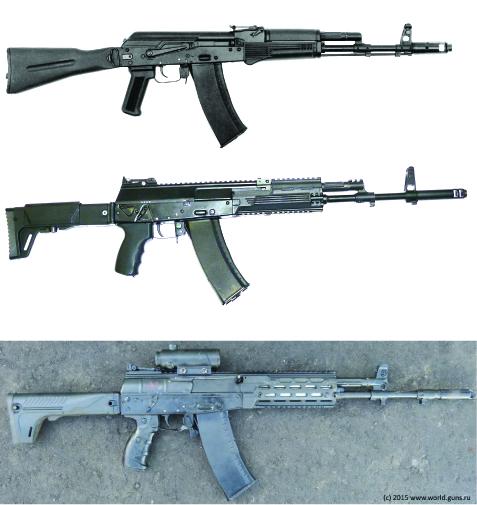 AK-74M&AK-12s