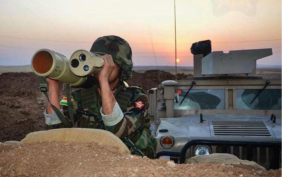 Kurdish RPG-32 Jan 2016