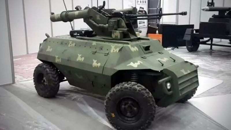 Iraqi PMU unmanned ground vehicle – Armament Research Services