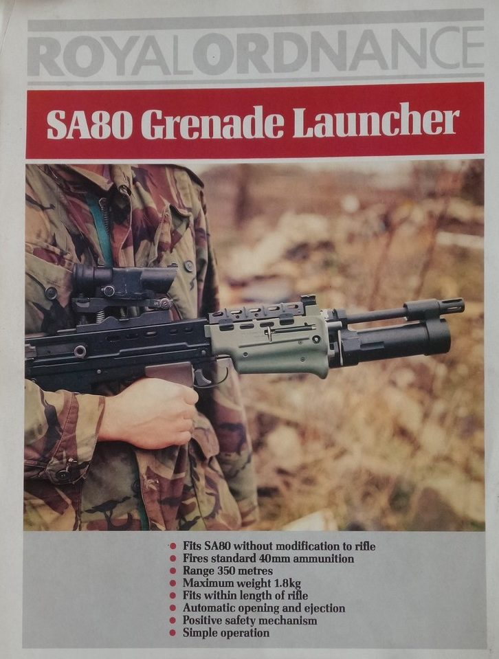 British Enfield SA80 Part 8: Grenade Launchers – Armament Research