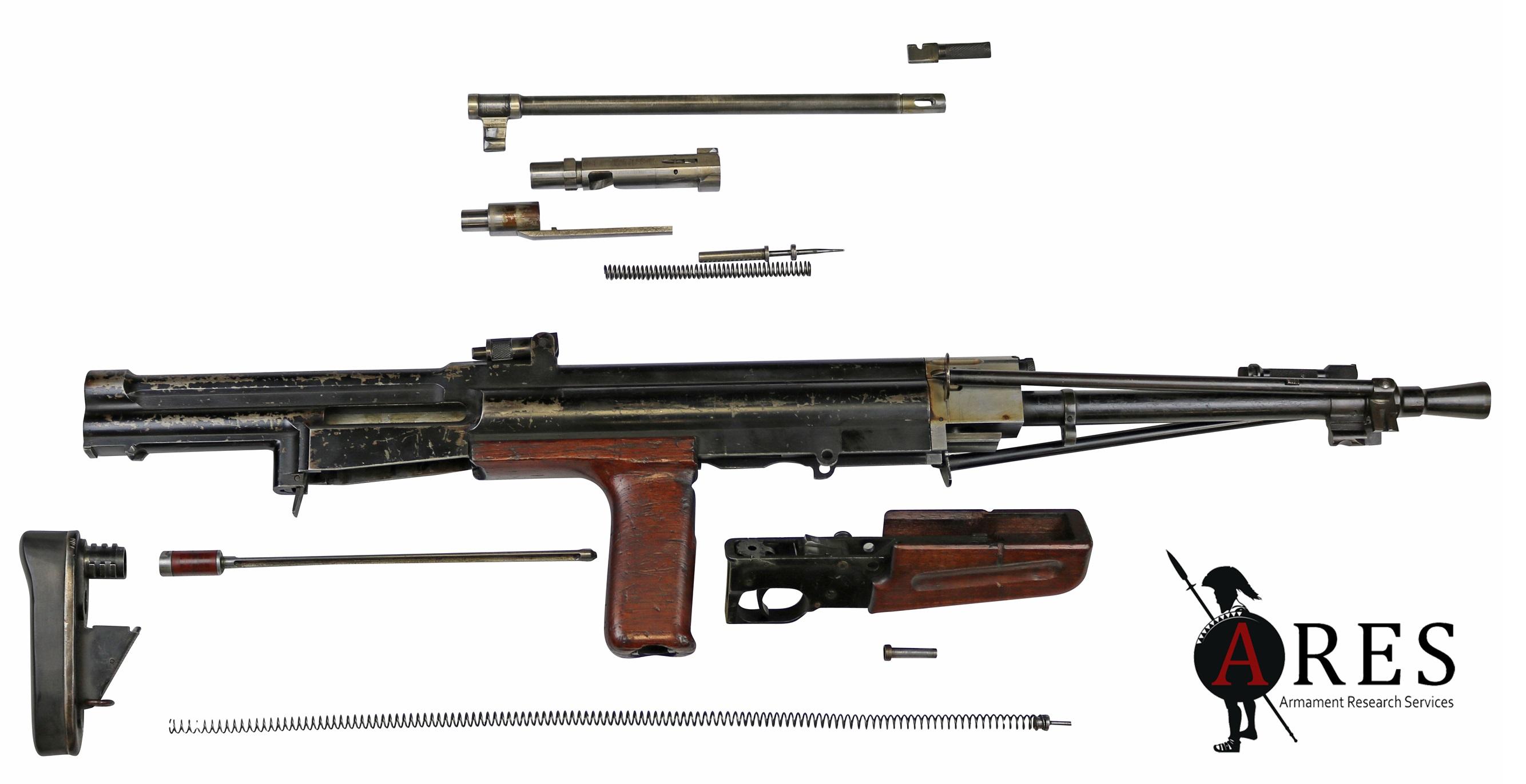 British Korsak E M 1 light machine gun – Armament Research Services