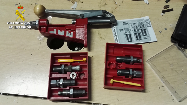Converted blank-firing firearms for sale on Dark Web seized