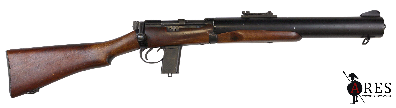 British De Lisle Carbine Bolt Action Rifle Armament