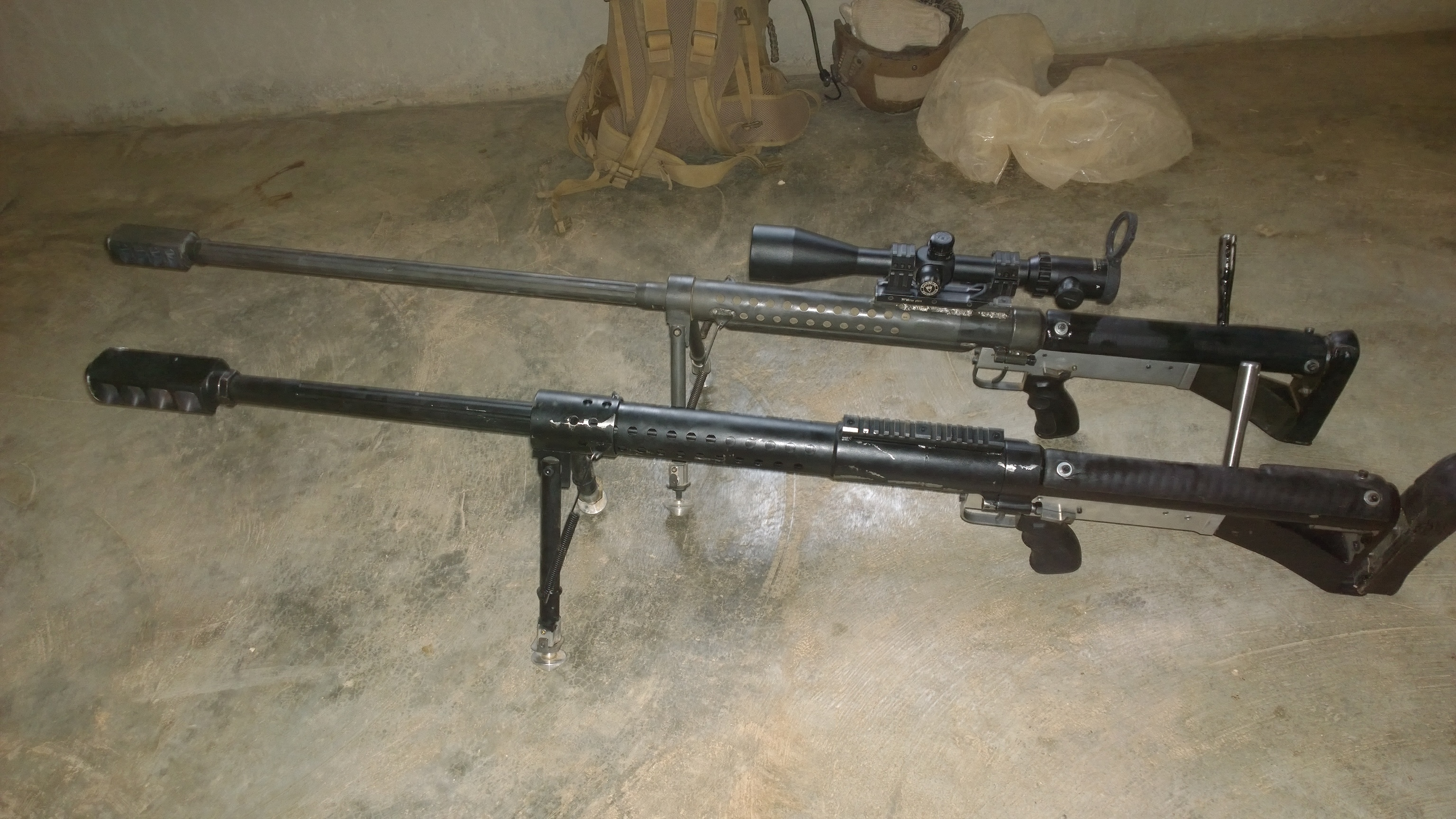Anti Materiel Rifle craft-produced anti-materiel rifles in service with kurdish