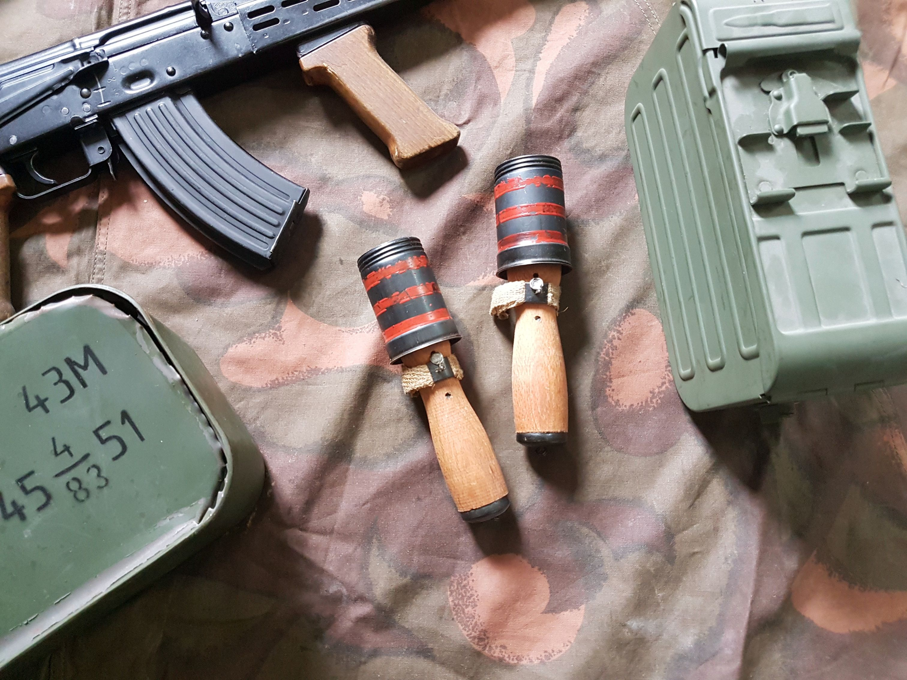 Hungarian 42/48 M  hand grenade – Armament Research Services